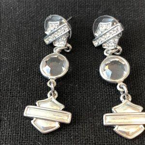 Harley Davidson Woman Earrings